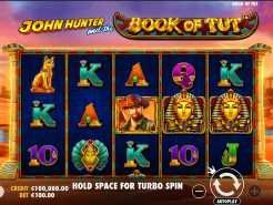 John Hunter and the Book of Tut Slots